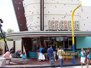 Marvel Super Hero Island Ice Cream
