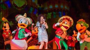 Mickey's Most Merriest Celebration é o novo espetáculo realizado durante o evento Mickey's Very Merry Christmas Party