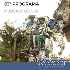 Viajando para Orlando – Podcast – 63