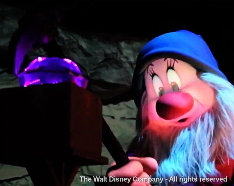 Divulgado novo vídeo sobre os personagens áudio-animatrônicos da Seven Dwarfs Mine Train