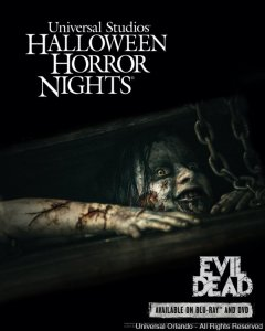"""Evil Dead"" é a nova casa do Halloween Horror Nights de 2013"