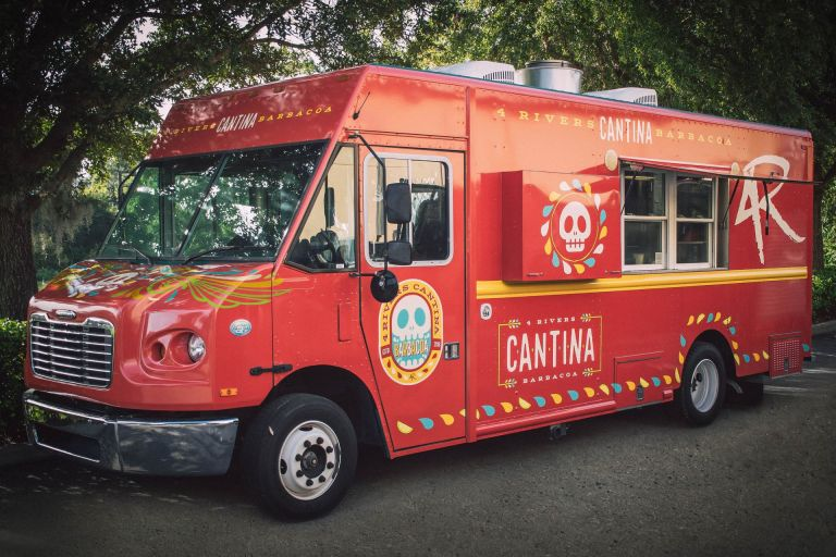 4 Rivers Cantina Barbacoa Food Truck