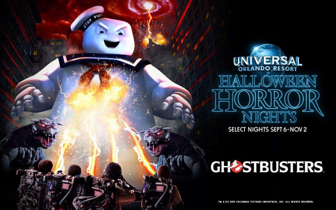 Ghostbusters no Halloween Horror Nights 2019