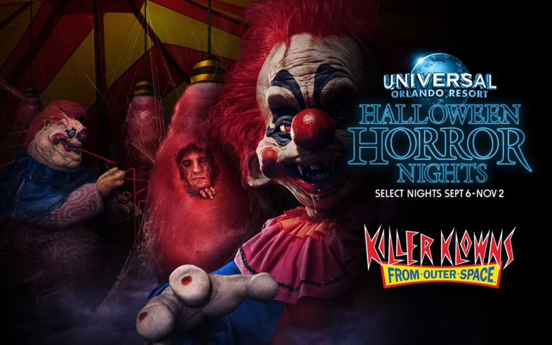 Killer Klowns from Outer Space no Halloween Horror Nights 2019