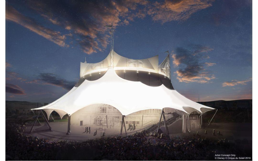 Bastidores do novo espetáculo do Cirque du Soleil