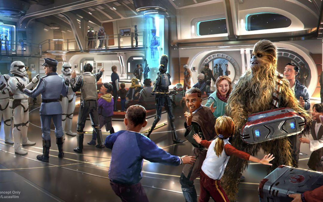 Mais informações sobre o novo hotel Star Wars: Galactic Starcruiser