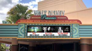 """""""The Eternals"""" e Jack Kirby em exibição na atração Walt Disney Presents"""