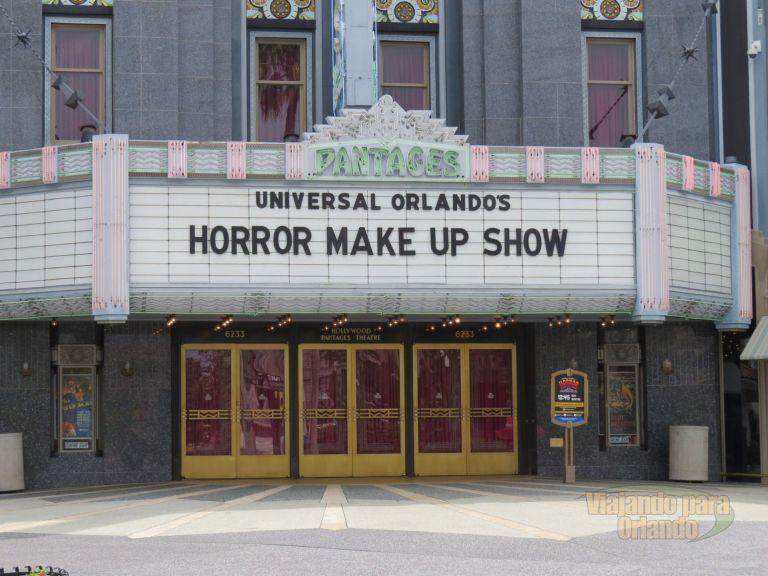 Universal Orlando's Horror Make-Up Show