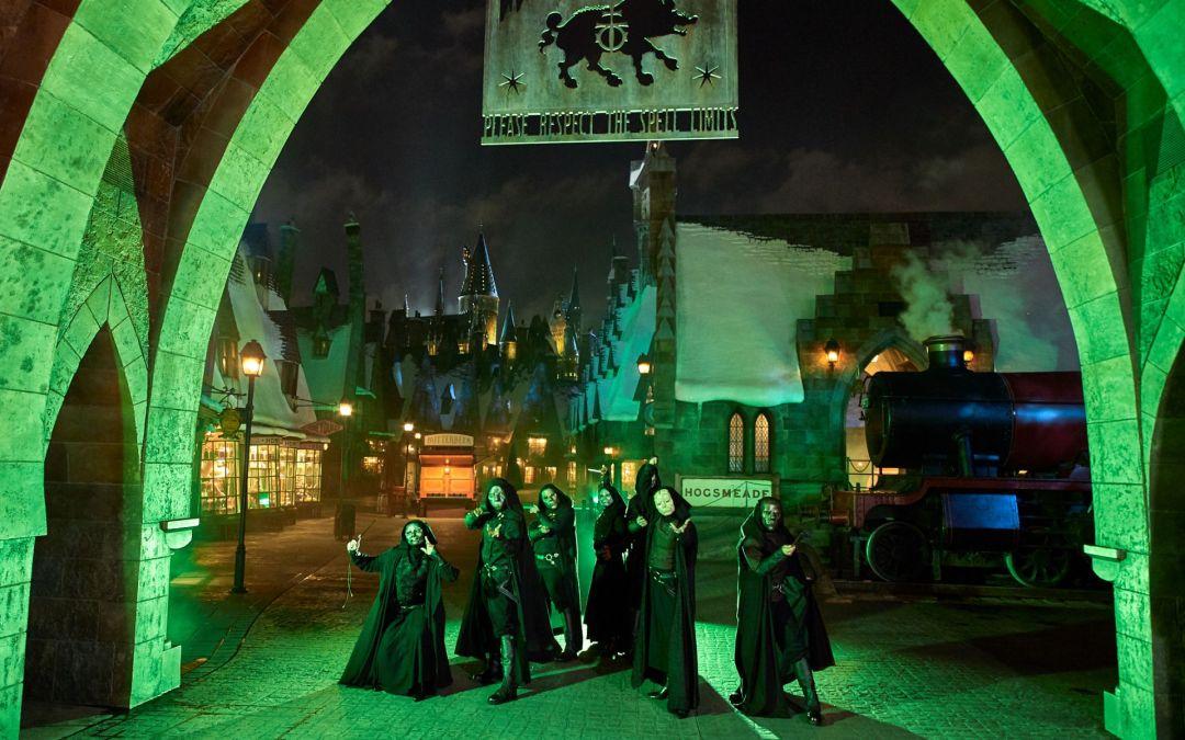 Dark Arts At Hogwarts Castle  em exibição em noites selecionadas