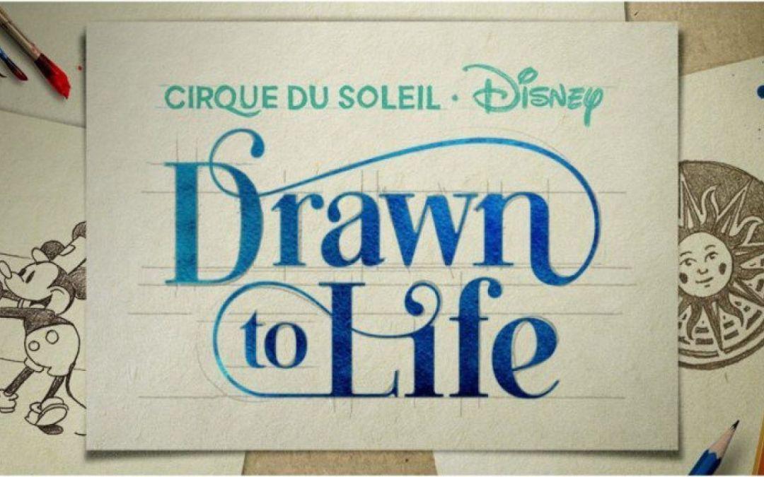 Drawn to Life é o nome do novo espetáculo do Cirque du Soleil em Disney Springs