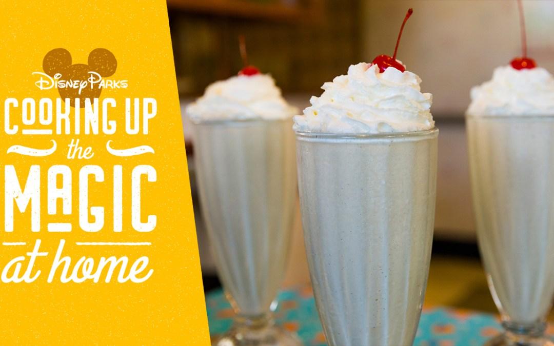 Aprenda a fazer o famoso milk-shake do 50's Prime Time Café