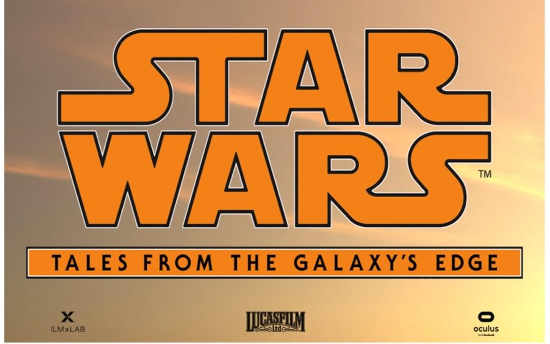 Star Wars: Tales from the Galaxy's Edge será uma nova experiência de realidade virtual