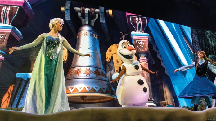 Elsa, Olaf and Anna - For the First Time in Forever: A Frozen Sing-Along Celebration at Disneys Hollywood Studios