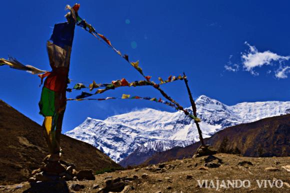 Mantras en las Montañas del Circuito de Annapurna