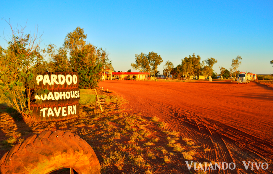 Entrada a Pardoo Roadhouse
