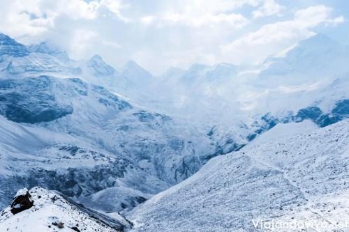 La cima del Circuito de Annapurna