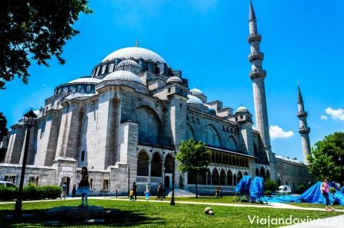 La imponente Mezquita Rustem Pasha