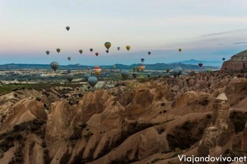Amanecer en Capadocia, Turquia