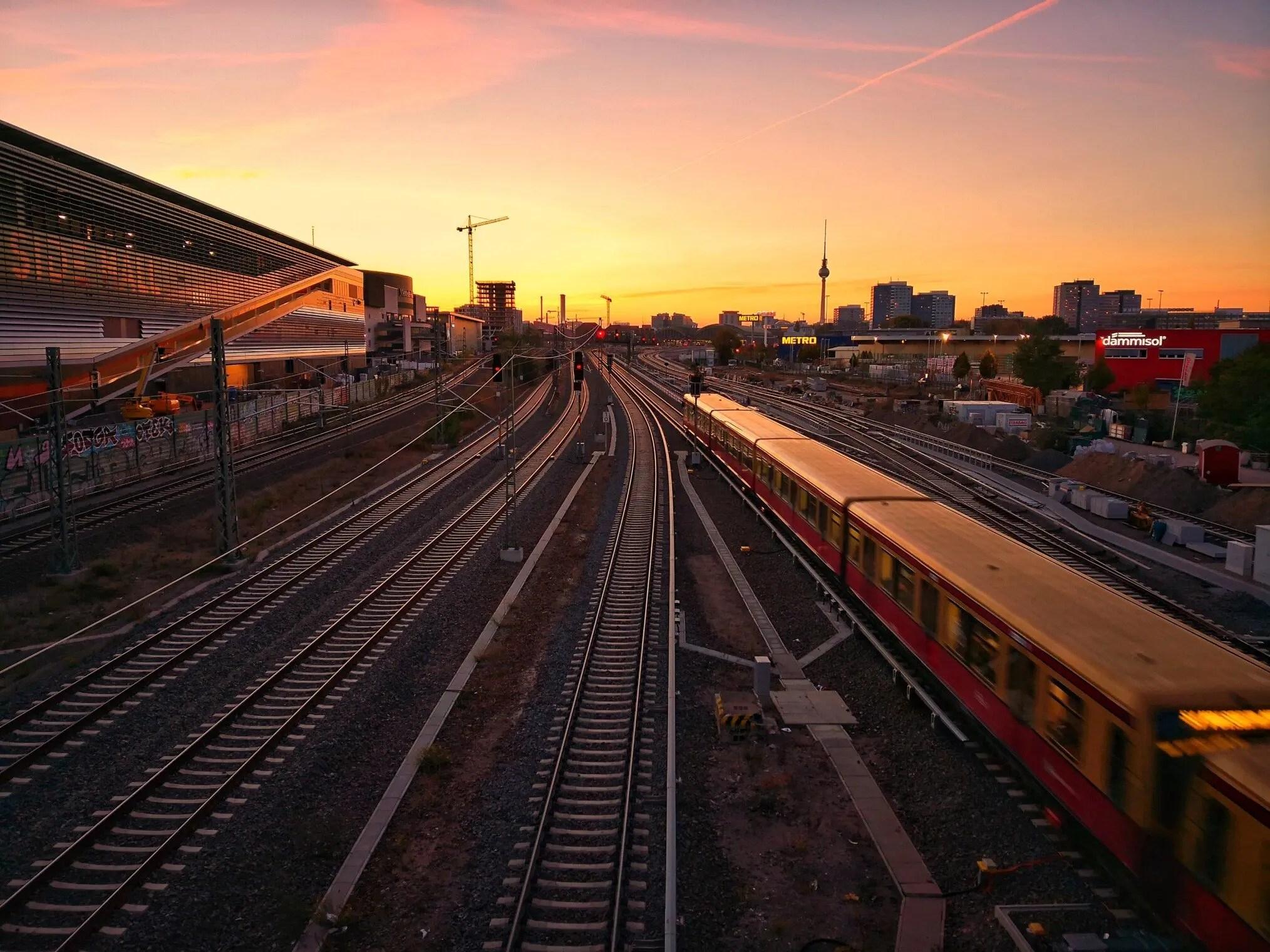 Estacion de trenes en Berlin