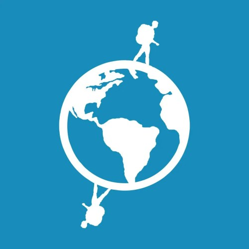 Logo de Worldpackers para viajar barato