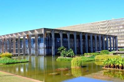 Fachada do Palácio do Itamaraty