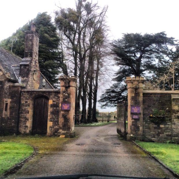 Entrada do Castelo Thornbury