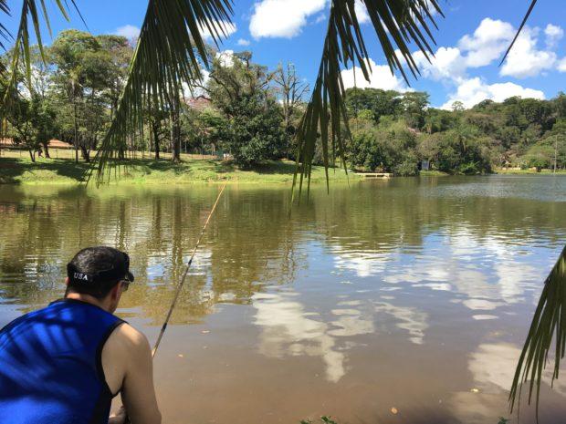 Pescaria no Tauá Grande Hotel e Termas de Araxá
