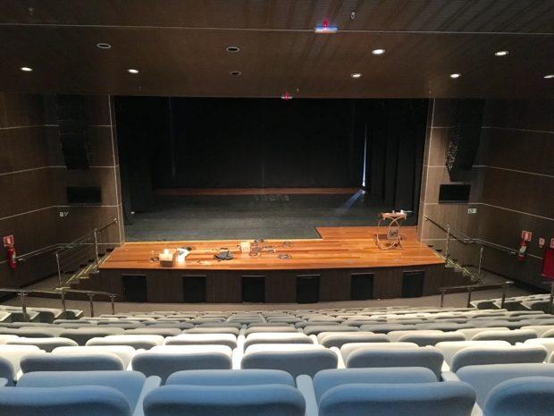 Interior do Teatro Municipal de Araxá
