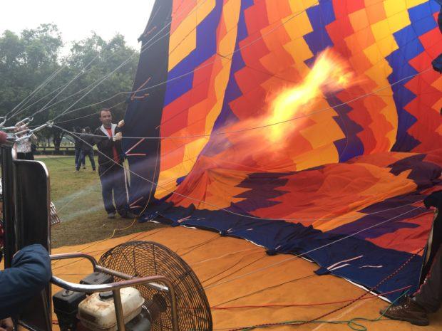 Inflando o Balão