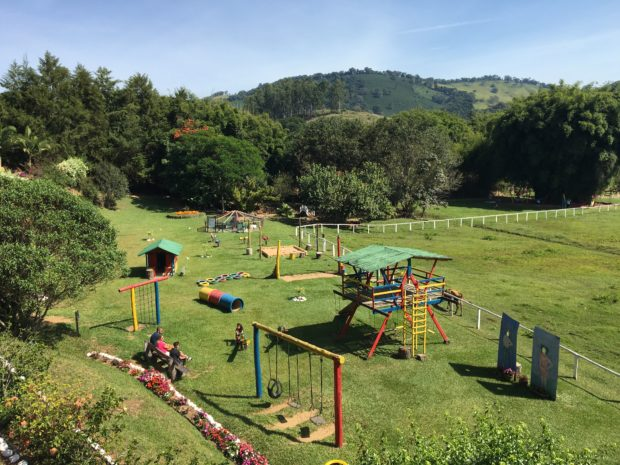Playground para alegria das crianças