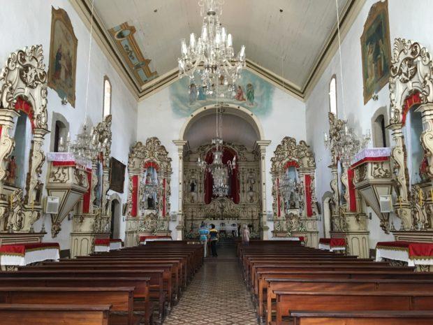 Interior da Igreja Matriz de Nossa Senhora da Piedade
