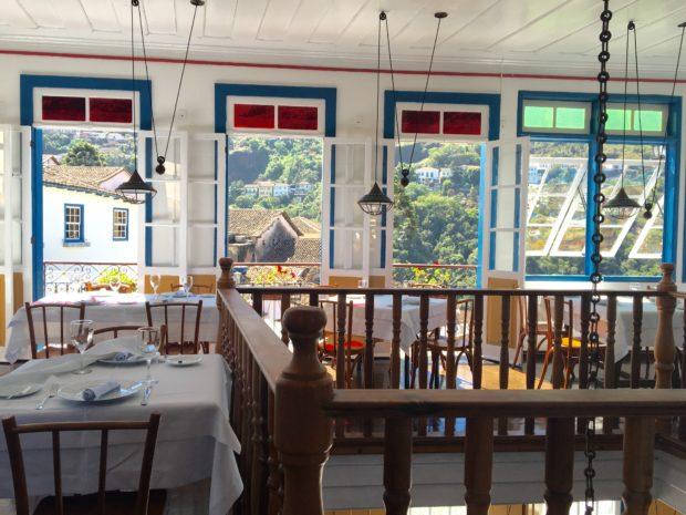 Interior do Restaurante Bené da Flauta