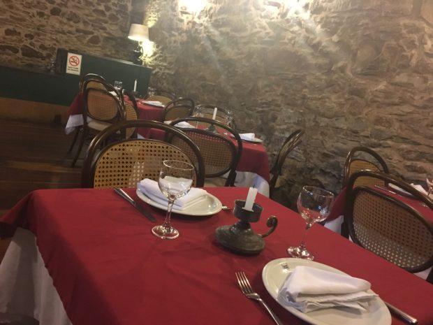Mesa do Restaurante do Hotel Luxor