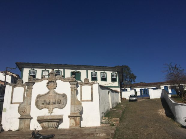 Casa onde morou Maria Joaquina Dorotéia de Seixas, a Marília de Dirceu.