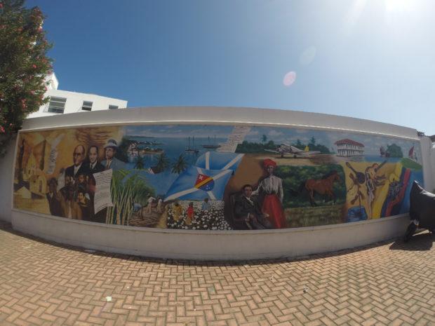 Arte nos muros de San Andrés