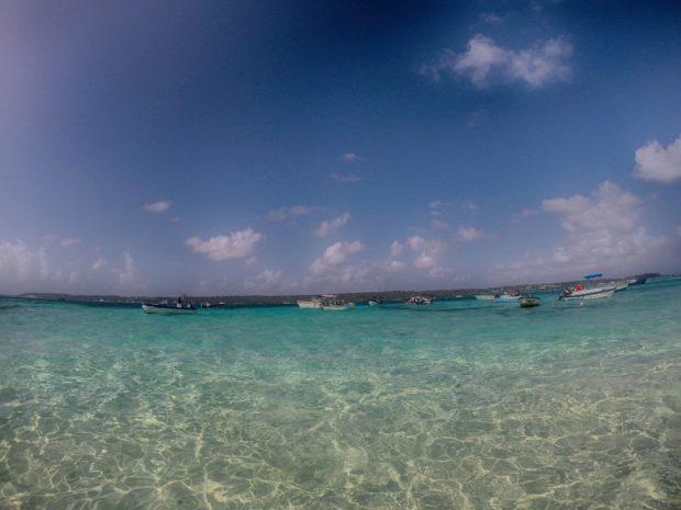 As cores do mar de San Andrés