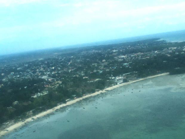 Vista Aéra de Zanzibar