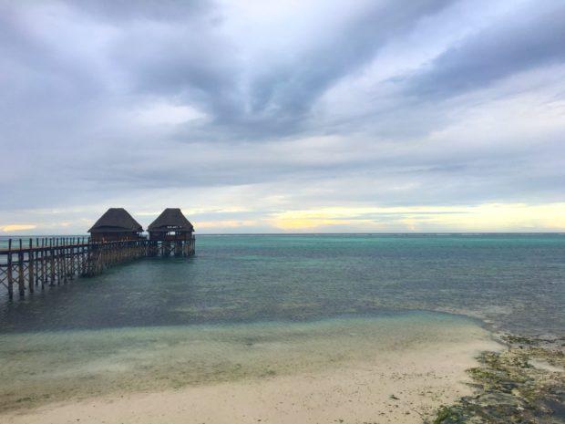 Maré baixa - Meliá Zanzibar