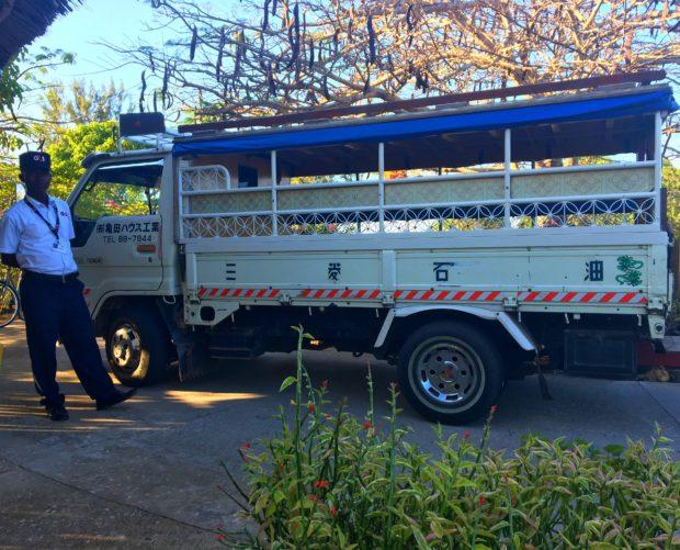 Dalla-Dalla do Hotel Meliá Zanzibar