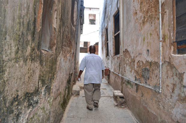 Ruelas de Stone Town - Zanzibar
