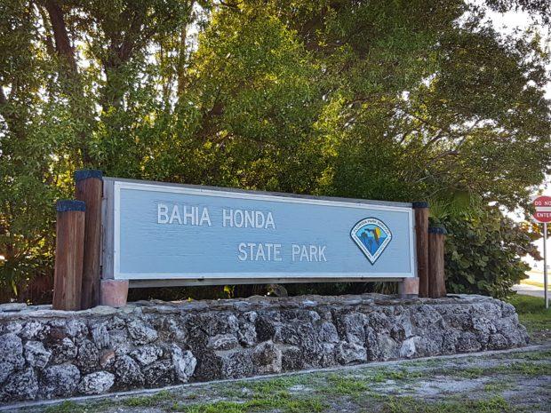 Entrada do Bahia Honda State Park