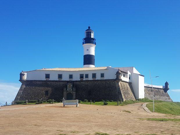 Farol da Barra e o Forte Santo Antônio da Barra