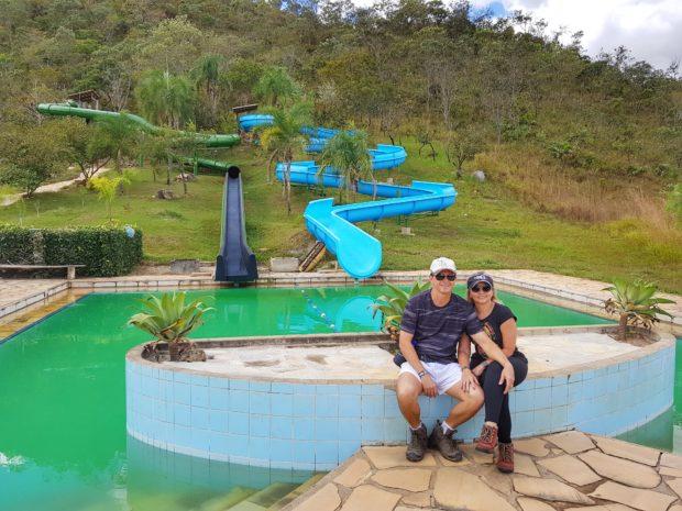 Toboágua no Salto Corumba