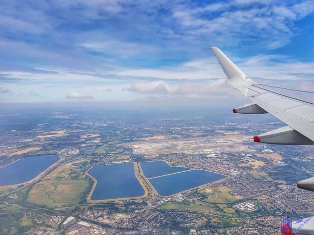Vista aérea de Corfu