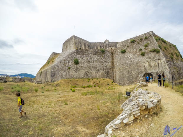 Nova Fortaleza da Ilha de Corfu