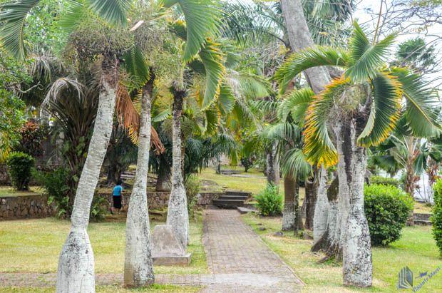 Jardim do La Domus em Mahe - Seychelles
