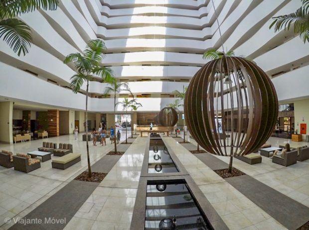 Reepção do Hotel Le Jardin Caldas Novas
