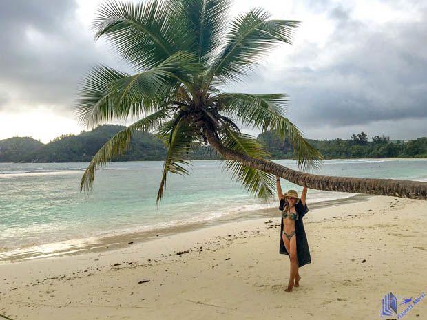 praia de mahe - seychelles