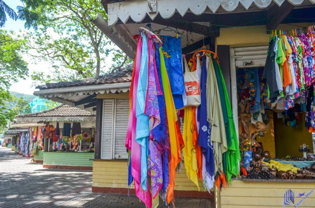 Feira de artesanato em Mahe - Seychelles