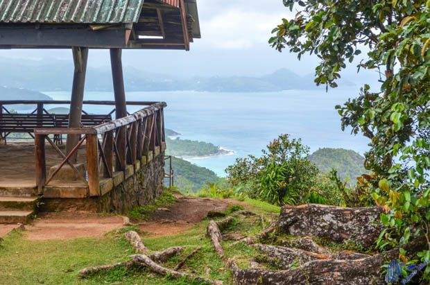 Vista Panorâmica em Mahe - Seychelles